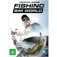 Fishing Sim World Angling Fish Sports Simulator Computer Game Windows PC DVD