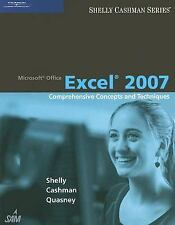 Microsoft Office Excel 2007 : Comprehensive Concepts and Techniques