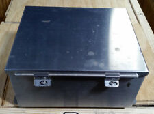 "HOFFMAN 12"" x 10"" x 6"" STAINLESS STEEL 4X HINGED JUNCTION BOX  A-12106CHNFSS"