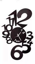 ARTI E MESTIERI OROLOGIO DA PARETE LUPIN NERO WALL CLOCK LOVE BLACK