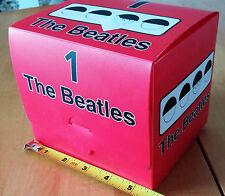 The Beatles No. 1 Box Set Red CD, Shirt XL, Key Ring, Clock A00488 RARE!!!!