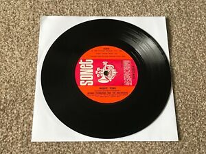 "GEORGE THOROGOOD - NIGHT TIME : EX UK 7"" VINYL SINGLE SON 2220 - PLAYS GREAT!!"