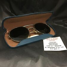 1 NEW PAIR NEW VINTAGE GENUINE RAF SUNGLASSES WITH CASE [20087]