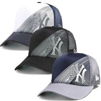 Oakley Men's New York Yankees New Era 9FORTY MLB Baseball Trucker Hat Cap