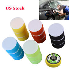 Car Polishing Pads Disc Sander Pad 4 Inch Wet 3 Mm Thick 15 Pieces Set US Stock