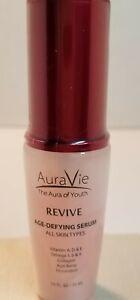 "Aura Vie ""Revive"" Age-Defying Serum  New"