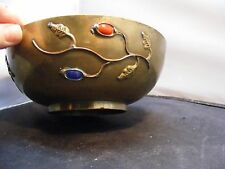 CHINESE BRASS BOWL