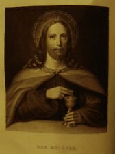 German HOLY BIBLE SCRIPTURE NEW OLD TESTAMENT Martin Luther Christianity Jesus