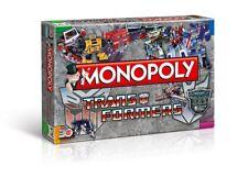 Monopoly Transformers retro Spiel Brettspiel Gesellschaftsspiel