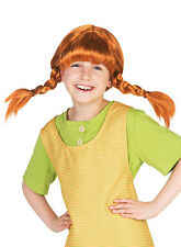 Pippi Langstrumpf Perücke für Kinder NEU - Karneval Fasching Perücke Haare