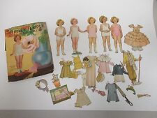 Vintage 1953- SHIRLEY TEMPLE Standing Paper Doll Set / No.1719 Saalfield in Box