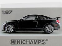 Minichamps 870 027106 BMW M4 GTS (2016) in schwarzmetallic 1:87/H0 NEU/OVP