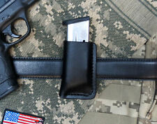 Leather Magazine Holder for M&P Shield  9mm or .40, Gen2, Made in USA