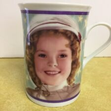 Shirley Temple Mug Danbury Mint 2002 from the movie Wee Willie Winnie in 1937