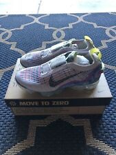 Women's Air Vapormax 2020 Flyknit Pure Platinum/Black-Multi Size 9