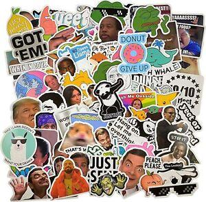 112pcs Meme stickers for laptop luggage sktateboard mug USA Shipped high quality