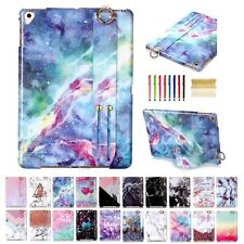 Slim Marble Pattern Silicone Shockproof Cover Case For iPad mini 1 2 3/pro 9.7""
