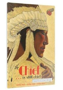 Niue 2015 $1 Vintage Mini Posters - The Chief Limited 1/2 Oz Silver Coin