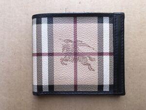 Auth Burberry mens  classic Nova Check wallet