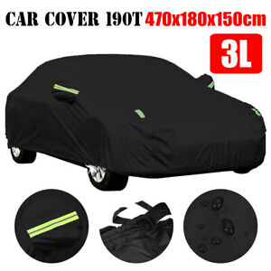 Full Sedan Car SUV Cover Waterproof Breathable Outdoor UV Dust Resistant Protect