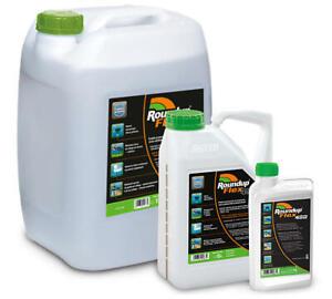 Monsanto Roundup Flex 480 Unkrautvernichter 1L 5L 15L Glyphosate Unkrautfrei NEU
