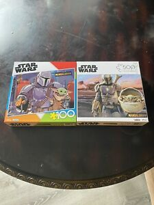 Star Wars The Mandalorian Child/Baby Yoda 💥500 and 100 Piece Puzzles