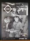 Erie Railroad Magazine Employee 1960 September 1960 Vol 56 #7 Cut cover