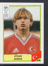 Panini UEFA Euro 2000 Football Sticker - No 158 - Ayhan Akman (S648)