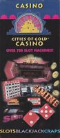 1990's Cities Of Gold Casino Pojoaque New Mexico Brochure