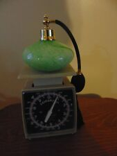 Vintage Art Glass Refillable Perfume Atomizer Bottle