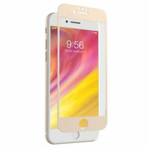 Zagg InvisibleShield Glass Screen Protector for iPhone 8 Plus/7 Plus Gold