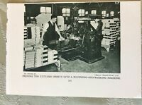 m17a7 picture ephemera 1930s messrs smythe horne ltd backing machine