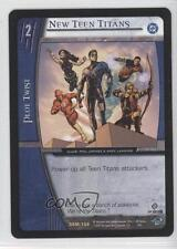 2004 VS System DC Superman - Man of Steel #DSM-138 New Teen Titans Card 0b6