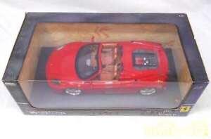 Mattel 1/18 Hot Wheels Ferrari F430 Spider G7222 Japanese Toy Car