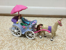 Fisher Price Sweet Street Dollhouse Victorian Horse Picnic Carriage People Lot