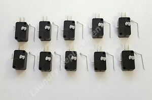 **10 PACK** DEXTER WASHER AND DRYER COIN DROP SWITCH KITS Part #9732-126-001 NEW
