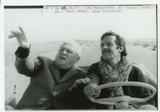 """GERT FROBE JEAN ROCHEFORT """"LES MAGICIENS"""" CHABROL FREDERIC DARD PHOTO CM"""