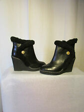 boots/bottines marc by jacobs cuir noir 37,5