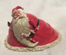 Santa Nightmare Before Christmas Disney Tiny Kingdom 1993 Figurine Sandy Claus
