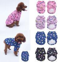 Pet Cat Puppy Small Dog Clothes Sweater Hoodie T shirt Coat Warm Pet Apparel #
