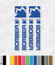Marzocchi Bomber Decals / Stickers - Custom / Fluorescent Colours - VERT