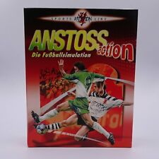 Anstoss Action Die Fussballsimulation PC Big Box Spiel Game Gigantisch