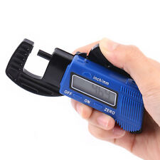 0-12mm Portable LCD Digital Thickness Gauge Meter Micrometer Tester Tool IS