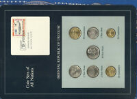 Coin Sets of All Nations Uruguay 1980-1981 UNC Vicker Viscount 1,5 New Peso 1980