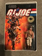 2006 G.i. Joe Collector's Convention Exclusive Signed SGT. SLAUGHTER New On Card