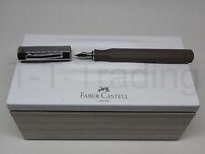 Faber Castell Füllfederhalter Ondoro Graubraun F/M/B - Sonderaktion -40%