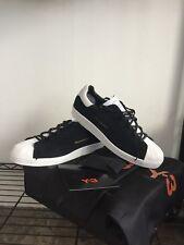 Adidas Y3 Super Knot YOHJI YAMAMOTO Black White Size 10.5 Shell Toes Boost Rare