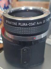 2x TelXtender For Pentax K Japan Spiratone Plura Coat leather case