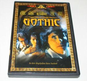Gothic - Gabriel Byrne - DVD