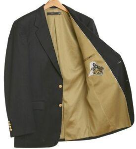 Purdue Boilermakers Team Blazer Licensed Logo Sport Coat Short - Regular - Tall